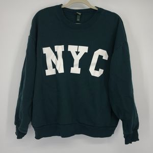 4/$25 Wild Fable NYC Spell Out Comfy Sweatshirt